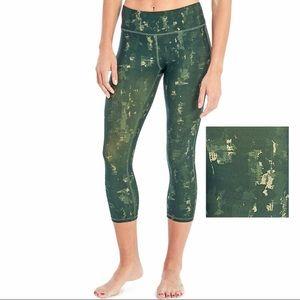 Marika Sport Green Capri Leggings NWT 12-14 Large